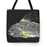 Gyotaku Roosterfish Tote Bag