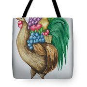 Rooster's Fruit To Go Tote Bag
