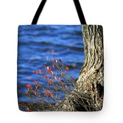 Rooted In Blue  Tote Bag