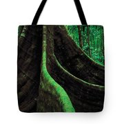 Roots Of A Giant Tree, Daintree Tote Bag