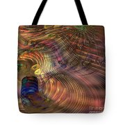 Roots Of Light - Square Version Tote Bag