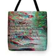 Roots - Use Red/cyan Filtered 3d Glasses Tote Bag