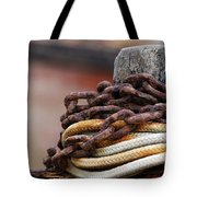 Rope And Chain Tote Bag