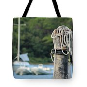 Rope And Knot Tote Bag