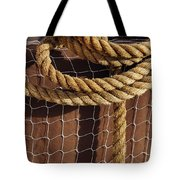 Rope And Net Tote Bag