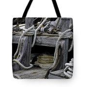 Rope Course Tote Bag