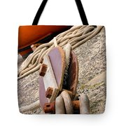 Ropes And Chains Tote Bag