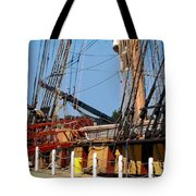Ropes And Ramp  Tote Bag