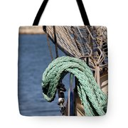 Ropes And Rigging Tote Bag