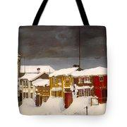 Roros In Winter - Norway Tote Bag