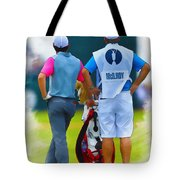 Rory Mcilroy  Tote Bag