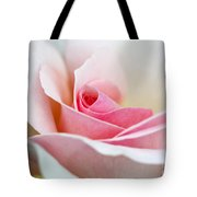 Rosa A Whiter Shade Of Pale  Tote Bag