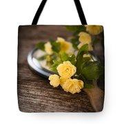 Rosa Banksiae Lutea Tote Bag