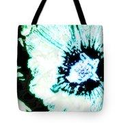 Rosa Sinensis Abstract Tote Bag