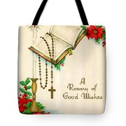 Rosary Good Wishes Tote Bag