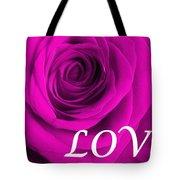 Rose 16 Love Tote Bag