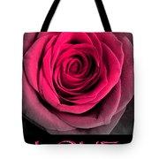 Rose 33 Love Tote Bag