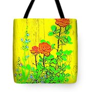 Rose 9 Tote Bag