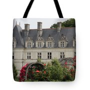 Rose And Cabbage Garden Chateau Villandry Tote Bag