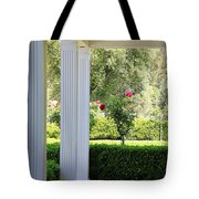 Rose And Front Porch Tote Bag