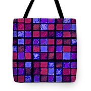 Rose And Purple Sudoku Tote Bag