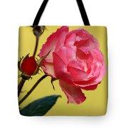Rose And Rose Buds Tote Bag