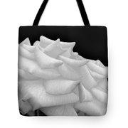 Rose Bw Tote Bag