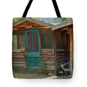 Rose Cabin At The Holzwarth Historic Site Tote Bag