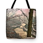 Rose Colored Morning Tote Bag