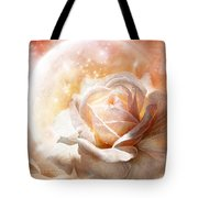 Rose - Colors Of The Moon Tote Bag