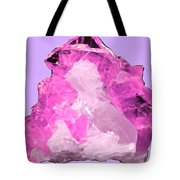 Rose Crystal Quartz Tote Bag