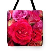 Rose Enhanced Tote Bag