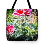 Rose Expressive Brushstrokes Tote Bag