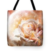 Rose For A Unicorn Tote Bag