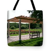 Rose Garden Retreat Tote Bag