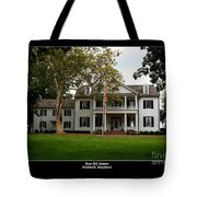 Rose Hill Manor Tote Bag