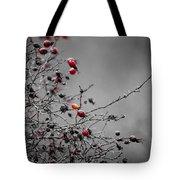 Rose Hip Red Tote Bag