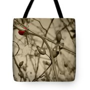 Rose Hips Tote Bag