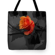 Rose IIi - A Message Tote Bag
