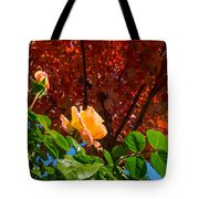 Rose In Autumn Tote Bag