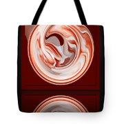 Rose In Orb Tote Bag