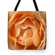 Rose In Rain Tote Bag