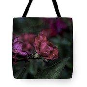 Rose In The Rain Tote Bag