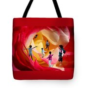 Rose Labyrinth Tote Bag