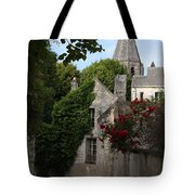Rose Lane In Loches Tote Bag