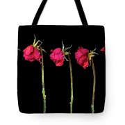 Rose Lineup Tote Bag