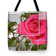 Rose Montage Tote Bag