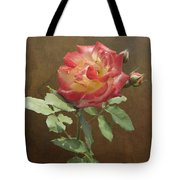 Rose On Thornridge Road Tote Bag