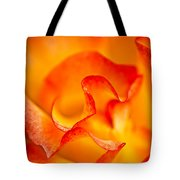 Rose Petals Closeup Tote Bag