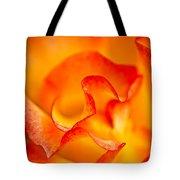 Rose Petals Closeup Tote Bag